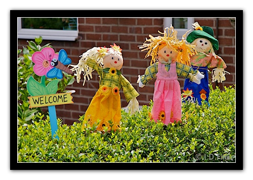 Blackrod Scarecrows