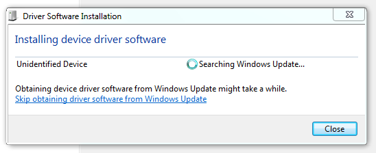 Windows Update for mouse