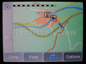 Haydon Bridge Bypass on TomTom