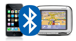 iPhone TomTom Bluetooth