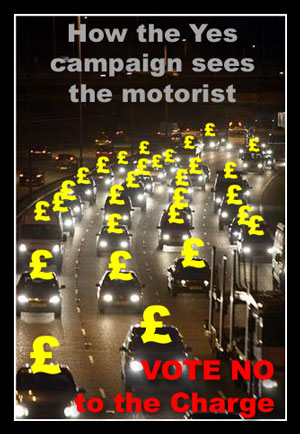 How the Yes Campaigns views the Manchester Motorist